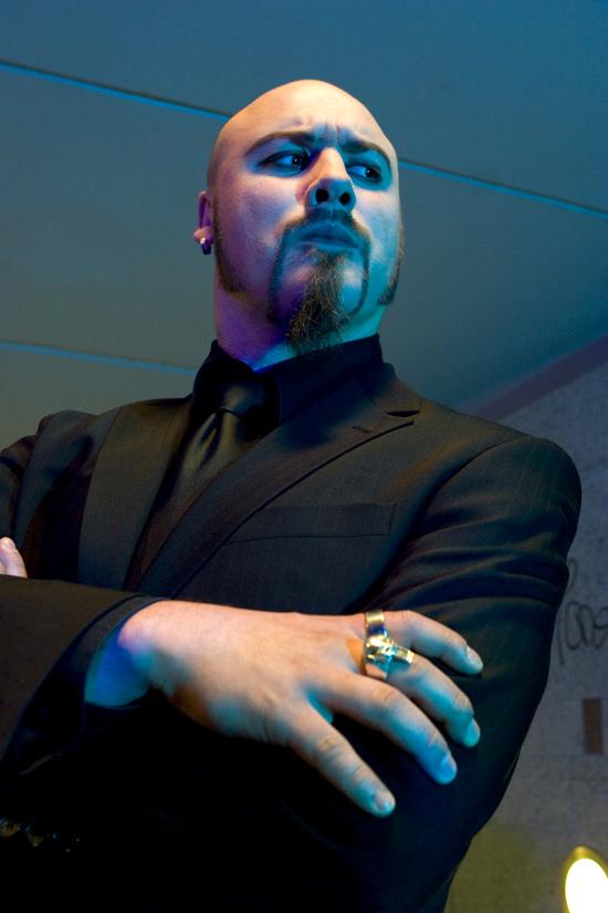 Künstler Portrait Musiker Art Grotesque
